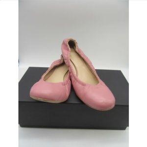 vera wang pink leather flats size 38